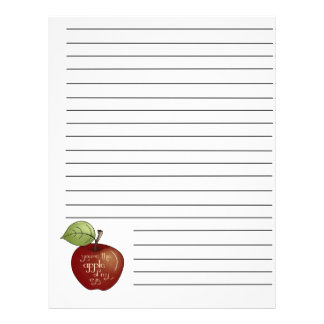 Apple Of My Eye Recipe Binder Pages