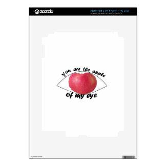 Apple of my eye skin for iPad 3