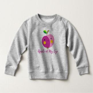 """""""Apple of My Eye"""" Toddler Fleece Sweatshirt"""