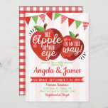 Apple of our Eye Baby Shower Invitation Invite