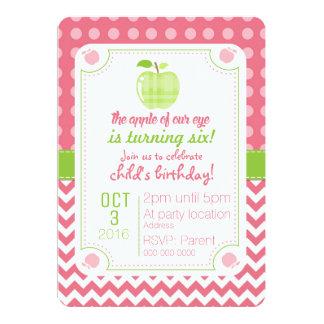 Apple Of Our Eye Birthday Invitation