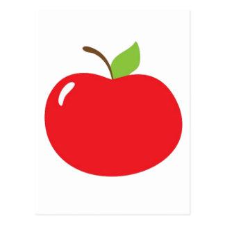 Apple of Your Eye Cartoon Postcard