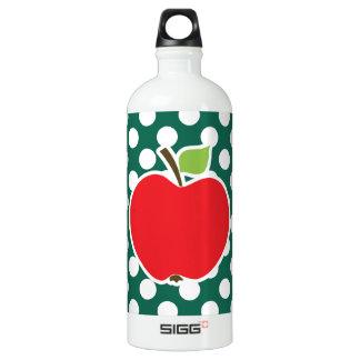 Apple on Bottle Green Polka Dots SIGG Traveler 1.0L Water Bottle