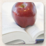 Apple on Open Text Book Coasters