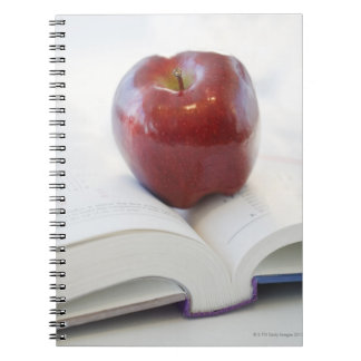 Apple on Open Text Book Notebook