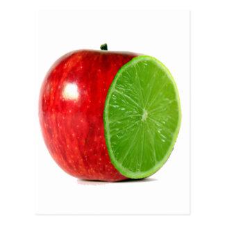 Apple Orange Postcard
