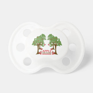 APPLE ORCHARD 2 BABY PACIFIERS