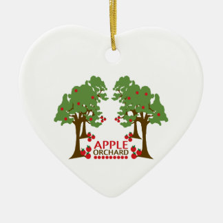APPLE ORCHARD 2 CHRISTMAS TREE ORNAMENTS