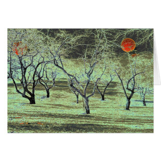Apple Orchard # 5 Greeting Card