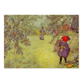 Apple Orchard Harvest Card