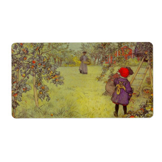 Apple Orchard Harvest Label