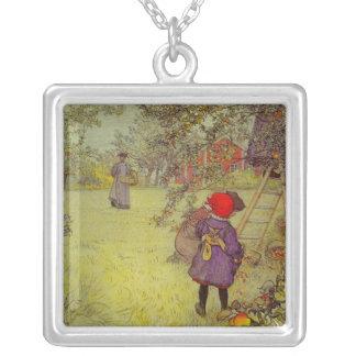 Apple Orchard Harvest Custom Necklace