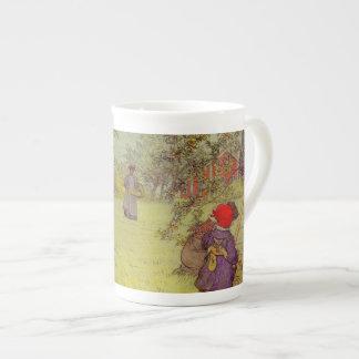 Apple Orchard Harvest Porcelain Mug