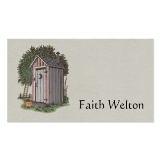 Apple Orchard Outhouse Business Card