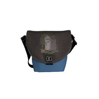 Apple Orchard Outhouse Courier Bag