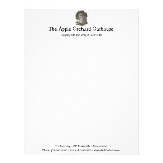 Apple Orchard Outhouse Letterhead