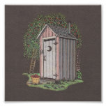 Apple Orchard Outhouse Photo Print