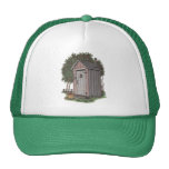 Apple Orchard Outhouse Trucker Hat