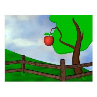 Apple Orchard Postcard