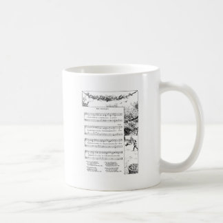 Apple Orchard Song Classic White Coffee Mug