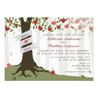 Apple Orchard Wedding Invitation