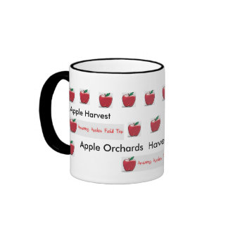 Apple Orchards of AZ. Ringer Coffee Mug