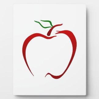 Apple Outline Plaque