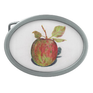 Apple Oval Belt Buckle