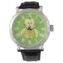Apple owl wrist watch