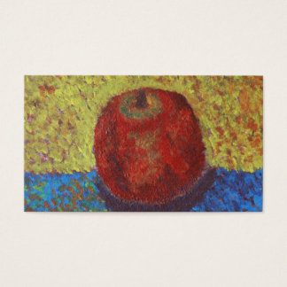 Apple PAINTING Business Card