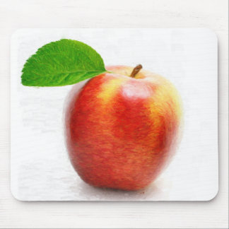 Apple painting -  Mousepad