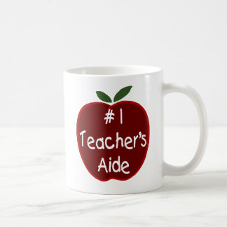 Apple para el asistente del profesor asalta taza