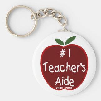 Apple para el llavero del asistente del profesor
