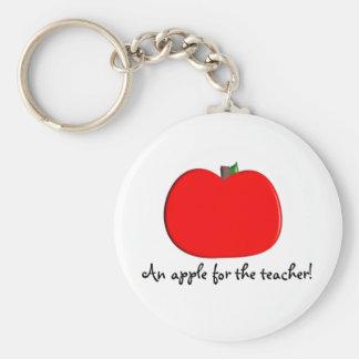 ¡Apple para el profesor Llavero
