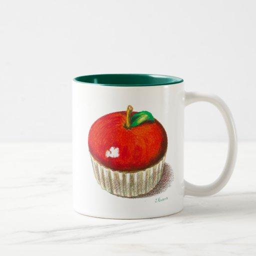 ¡Apple para el profesor! Taza De Dos Tonos