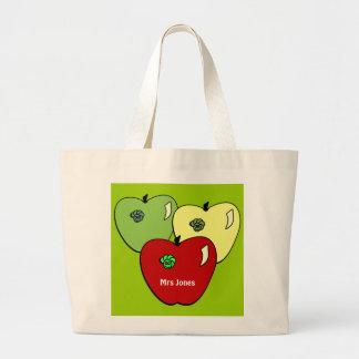Apple para la bolsa de asas del profesor