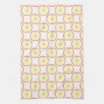 Apple pattern. hand towel