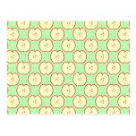 Apple pattern. post card