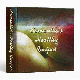 Apple Pear Delight Recipe Binder