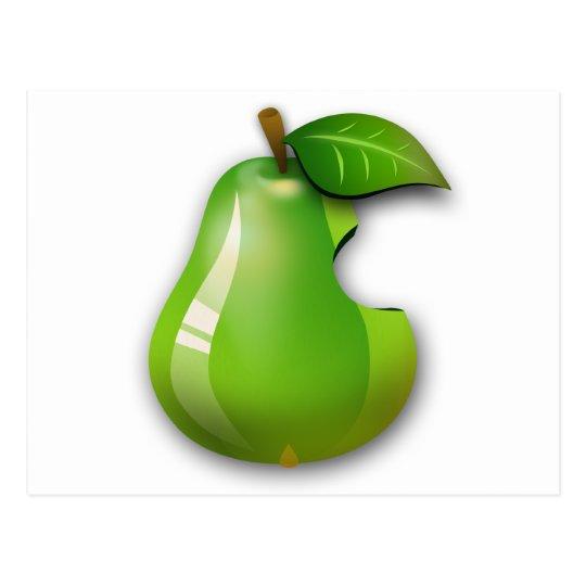Apple Pear Postcard