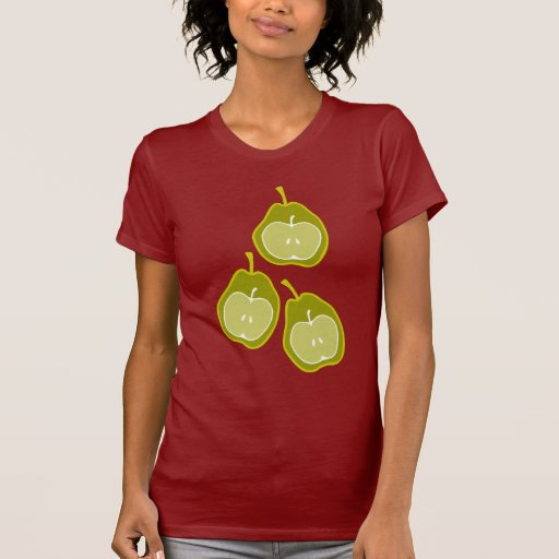 Apple & Pears Doodle Art T Shirts