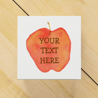 Apple Personalized Favor Box