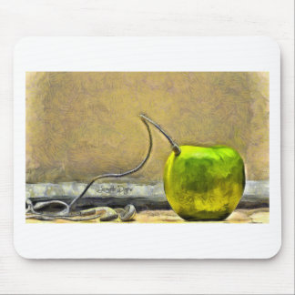 Apple Phone Mouse Pad