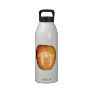 Apple pi botella de agua reutilizable