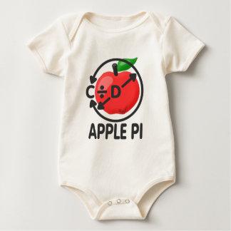 Apple Pi Baby Bodysuit