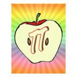 Apple pi (empanada) plantilla de membrete
