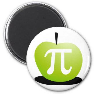 Apple pi imán redondo 5 cm