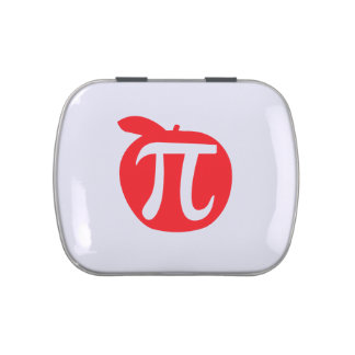 Apple Pi Jelly Belly Candy Tin
