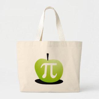 Apple Pi Large Tote Bag