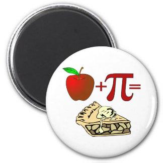 Apple + Pi Refrigerator Magnets